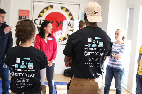 Spring Into Service 2018 - City Year Boston