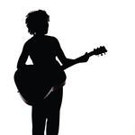 (B7) Guitar Silhouette