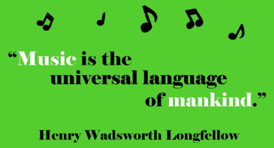 (B17) Music Quote - Longfellow