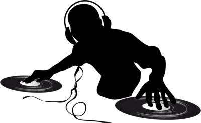 (B3) DJ Silhouette