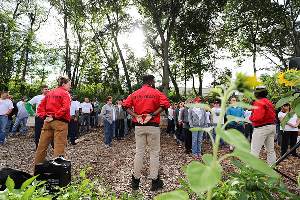 Ballou Farm Community Garden, City Year Care Force