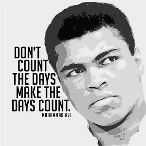 (C8) Muhammad Ali with Quote