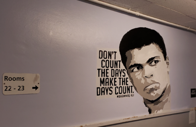 (C8) Muhammad Ali with Quote - Completed