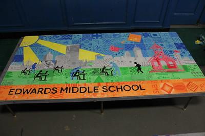 (D2) School Tile Mural