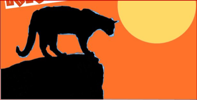 (D8) Cougar Silhouette