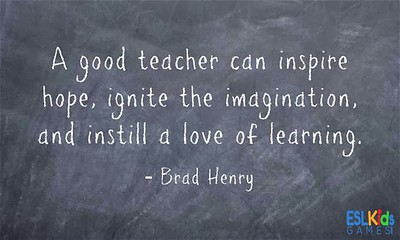 (E10) Good Teacher