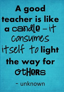 (E13) Teacher Candle