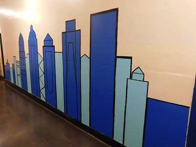 (F9) Blue Scale Skyline