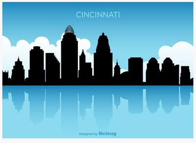 (F4) Cincinnati Skyline