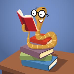 (G9) Worm on Books