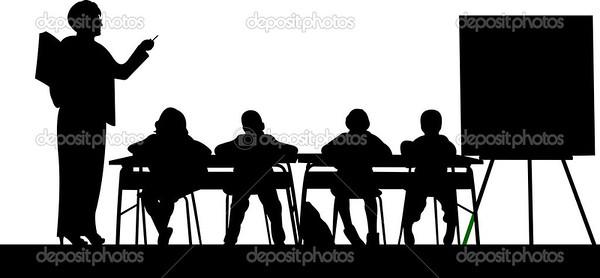 (G17) Kids at Desks