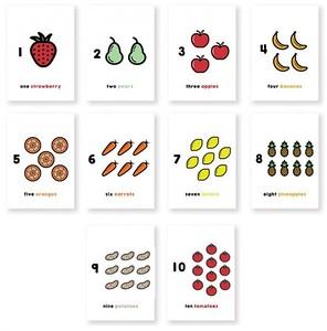 (G10) 10 Fruits and Veggies