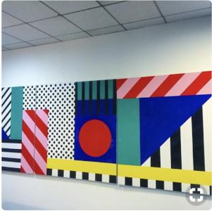 (H1) Geo Stripes