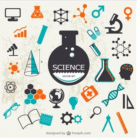 (I21) Science Icons