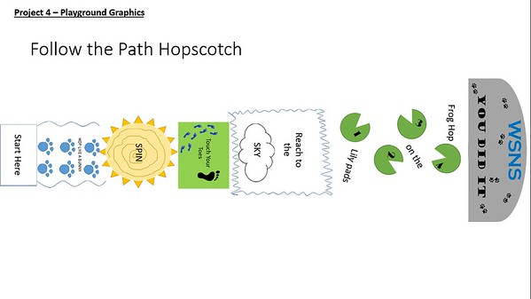 (J19) Activity Hopscotch