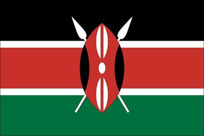 (K16) Kenya Flag