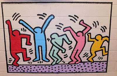 (K10) Haring Dancing - Completed