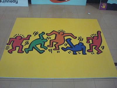 (K7) Keith Haring Dancing - Actual