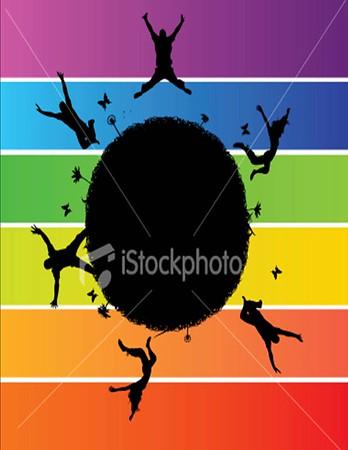 (K11) Rainbow Circle