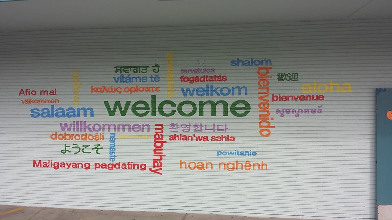 (K2) Welcome Mural 2 - Actual