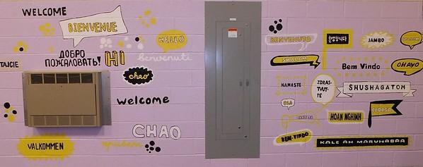 (K3) Welcome Mural 3