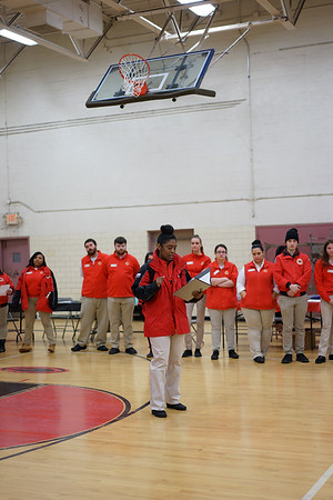 Toi Comer, City Year Cleveland Vice President and Executive Director, during her welcome presentation.