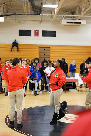 Heaven Roberts, City Year Cleveland AmeriCorps member with Harvey Rice Wraparound School, on what MLK, Jr. and service means to her.