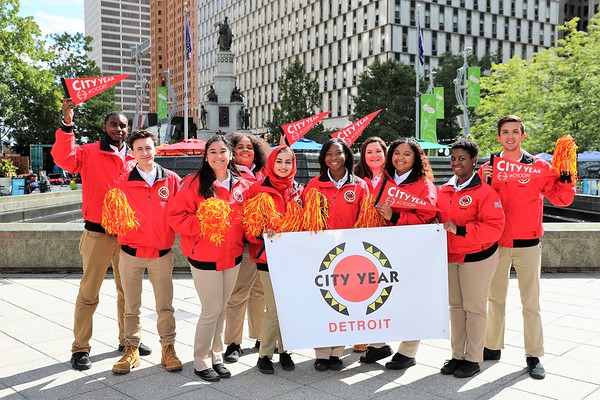 Opening Day 2017 - City Year Detroit