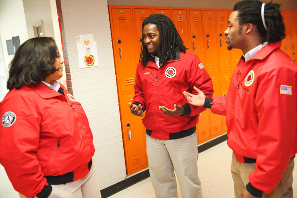 Hall High School Photography  - City Year Little Rock 2017