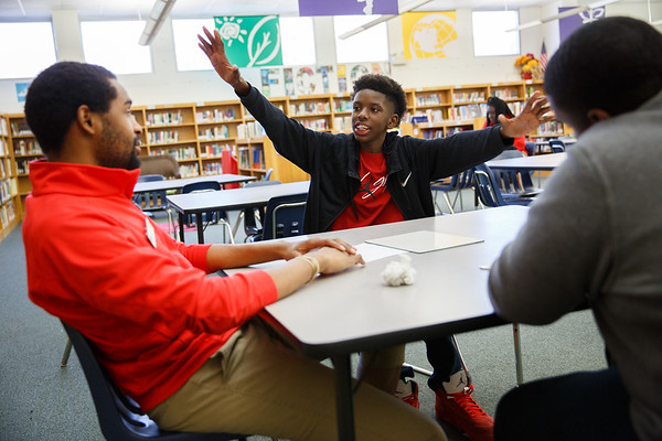 Mabelvale Middle School Photography - City Year Little Rock 2017