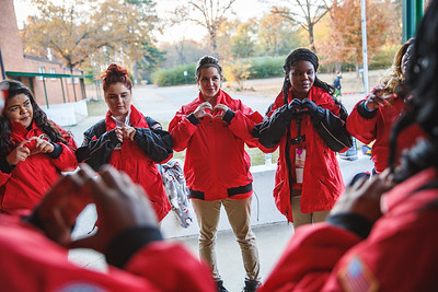 Cloverdale Middle School Photography - City Year Little Rock 2017