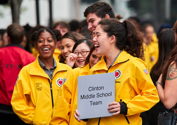 City Year Los Angeles Opening Day 2018