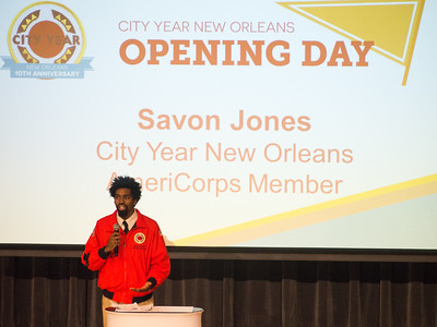 Opening Day 2016 - City Year New Orleans