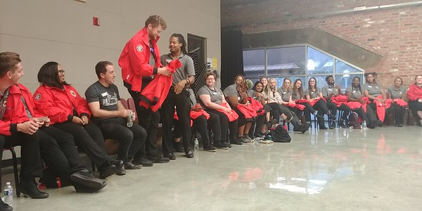 Red Jacket Ceremony 2018 - City Year New Orleans