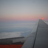 Flying from Dortmund to London Luton on EasyJet Airbus A319 G-EZAM, 12.12.2017.
