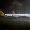 Monarch Airbus A321 at London Gatwick.