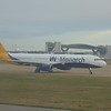 A Monarch Airbus A321 at London Gatwick.