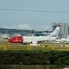 Norwegian Air Shuttle Boeing 737 LN-DYN at London Gatwick Airport.