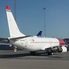 Off-lease Norwegian Air Shuttle Boeing 737-800 LN-NGZ stored at Stockholm Arlanda airport, 19.09.2020.