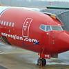 Norwegian Air Shuttle Boeing 737-800 LN-DYE at Gothenburg Landvetter with my flight to Gatwick.