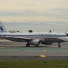 "United Airlines ""A320 Friend Ship"" heritage livery Airbus A320 N475UA at Newark Liberty Airport."