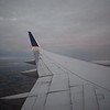Flying from Newark to Manchester on a United Airlines Boeing 757-200.