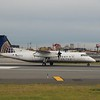 CommutAir United Express Bombardier Dash-8 Q300 N857CA at Newark.