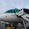 "Boarding Aer Lingus Airbus A320 EI-CVC ""St. Kealin"" at Birmingham Airport with my flight to Dublin."