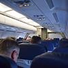 "Aer Lingus Airbus A320 EI CVC ""St. Kealin"" interior at Birmingham Airport with my flight to Dublin."