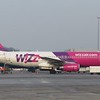 WizzAir Airbus A320 HA-LPM at Eindhoven Airport, 03.03.2018.