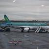 """Aer Lingus Airbus A320 EI-DEM """"St. Ibhar"""" at Dublin Airport."""
