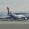 Hawaiian Airlines Airbus A330 N381HA at Seattle-Tacoma Airport.