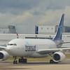 Air Transat Airbus A330 C-GITS at London Gatwick.