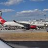 Virgin Atlantic Airbus A330 G-VNYC at Atlanta Hartsfield Jackson Airport.
